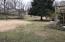 Large gentle sloping backyard