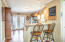 Kitchen has french doors leading you out onto one of two back decks!!