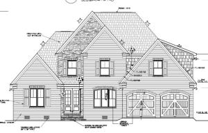 exterior rendering - Home profile similar to what is shown here