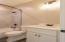 Full bathroom off bedroom 3