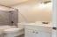 Full bath in second floor space