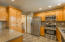 Completely remolded kitchen
