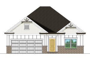 designer rendering of home to be built