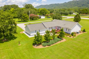 1-level custom built home on 3.68 level acres zoned A-1 with a 30x40 pole barn and 10x40 lean-to.