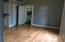 laminate flooring in this room