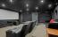 Stunning theatre room!