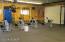 Lower level of Garage/Workshop