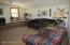 Upper level family room area