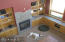 Great room from 2nd floor, dog is negotiable!