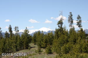 Gorgeous view of Byer's Peak