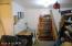 Work shop in garage