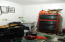 Utility sink in heated garage