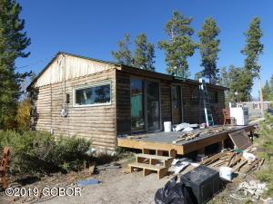 Cabin Under Construction