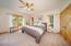 Ranch House Master Bedroom on main floor
