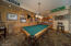 Pool Table/Bar in Main House