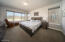Main floor primary bedroom with full bath