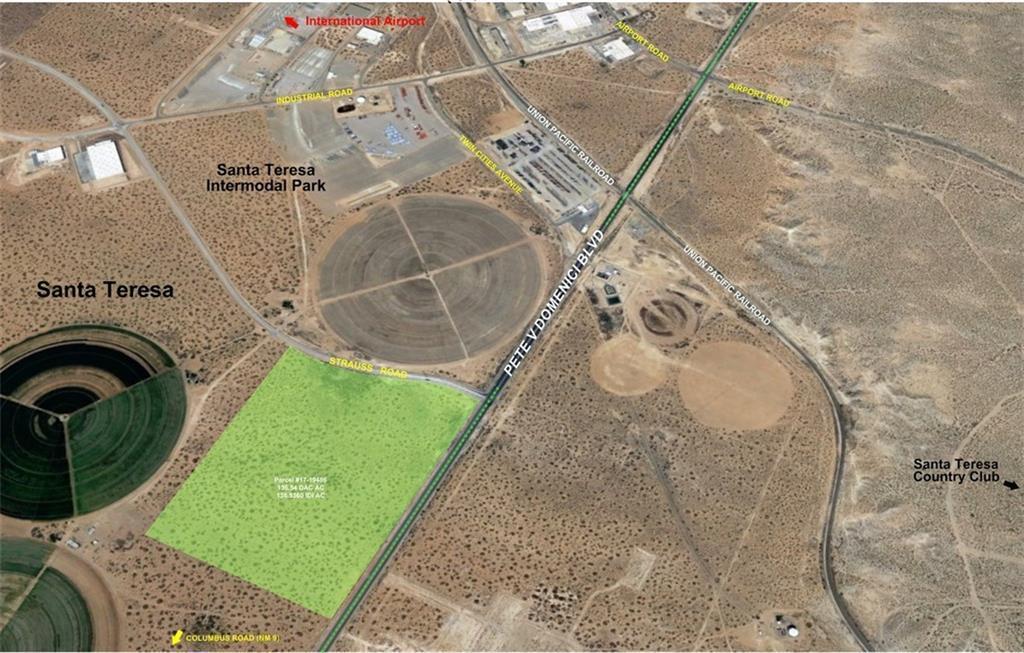 9101 Pete Domenici, Santa Teresa, New Mexico 88008, ,Land,For sale,Pete Domenici,744309