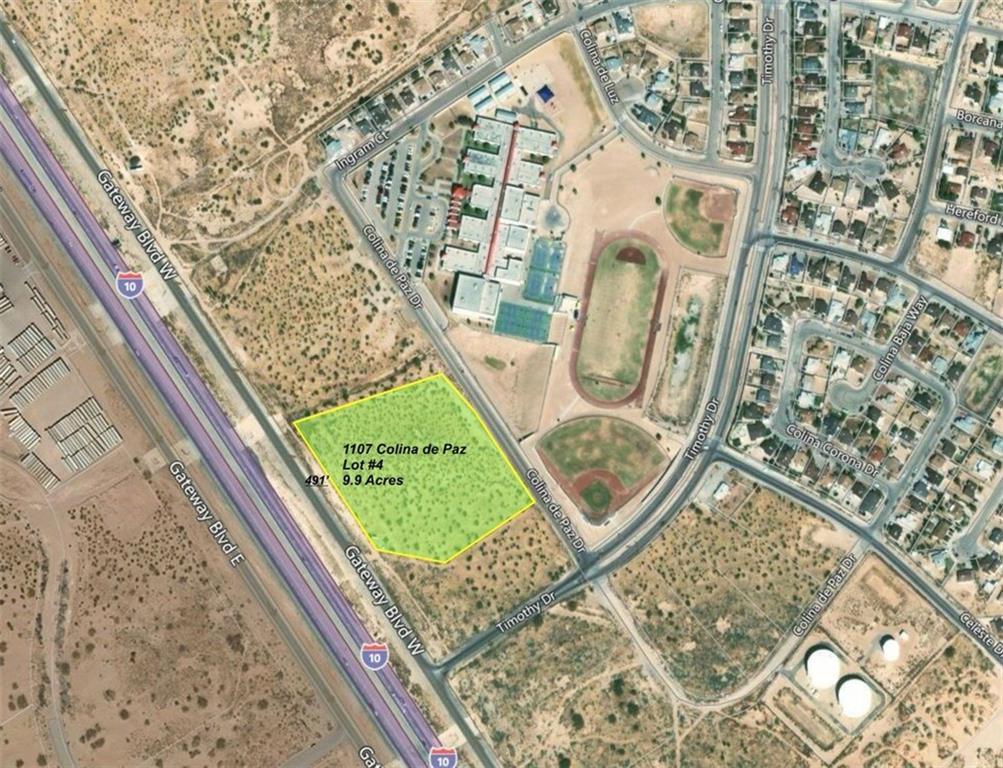 1107 Colina De Paz, El Paso, Texas 79928, ,Land,For sale,Colina De Paz,756452