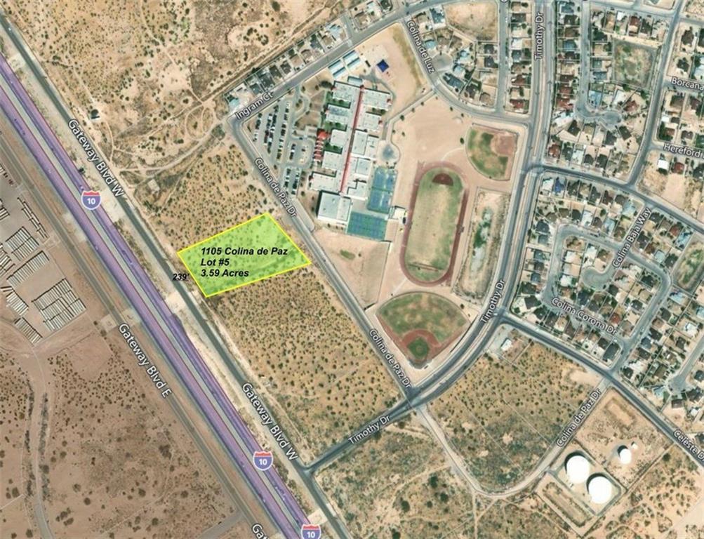 1105 Colina de Paz, El Paso, Texas 79928, ,Land,For sale,Colina de Paz,756454