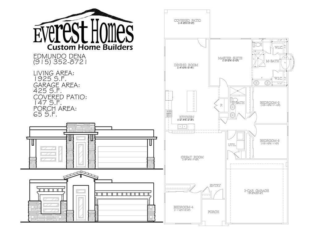 12072 Equestrian, El Paso, Texas 79938, 4 Bedrooms Bedrooms, ,2 BathroomsBathrooms,Residential,For sale,Equestrian,735043