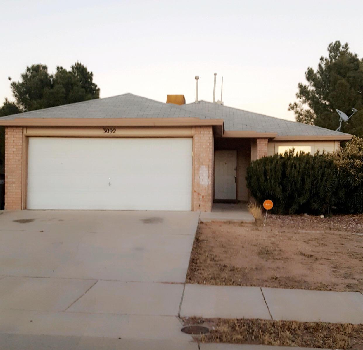 3092 tierra Bowles, El Paso, Texas 79938, 3 Bedrooms Bedrooms, ,2 BathroomsBathrooms,Residential,For sale,tierra Bowles,800360