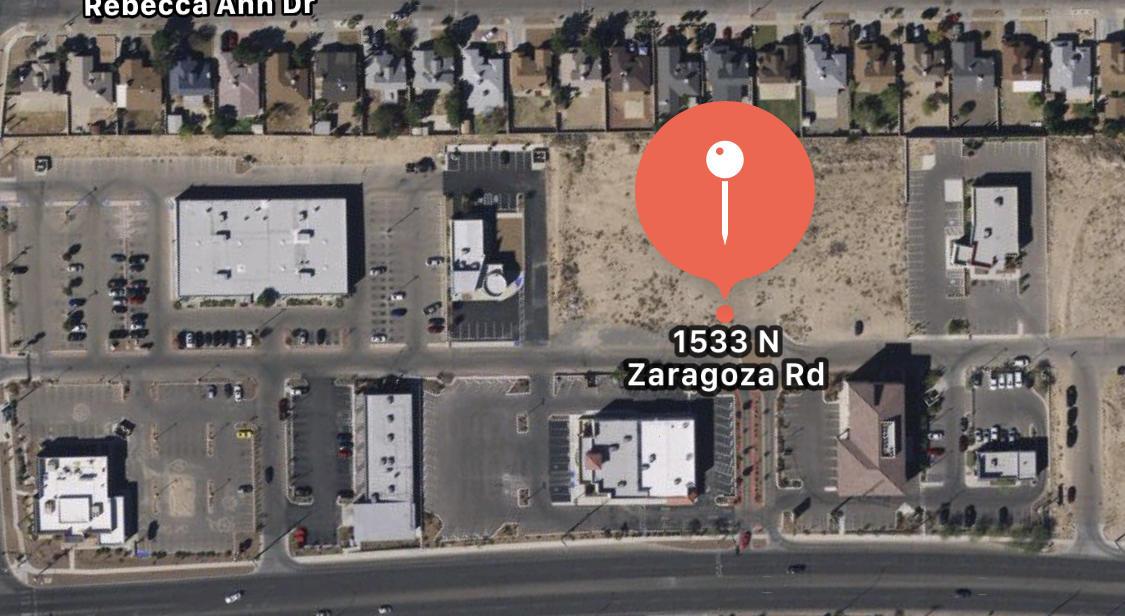 1533 N ZARAGOZA Road, El Paso, Texas 79936, ,Land,For sale,N ZARAGOZA,801300