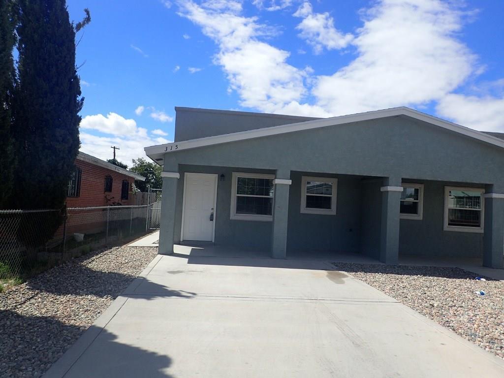 315 VAL VERDE, El Paso, Texas 79905, 2 Bedrooms Bedrooms, ,2 BathroomsBathrooms,Residential Rental,For Rent,VAL VERDE,806486