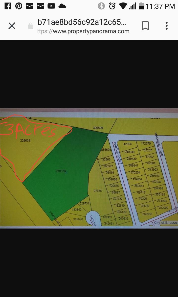 24 Socorro TR 8-A 3acres, Socorro, Texas 79927, ,Land,For sale,Socorro TR 8-A 3acres,806514