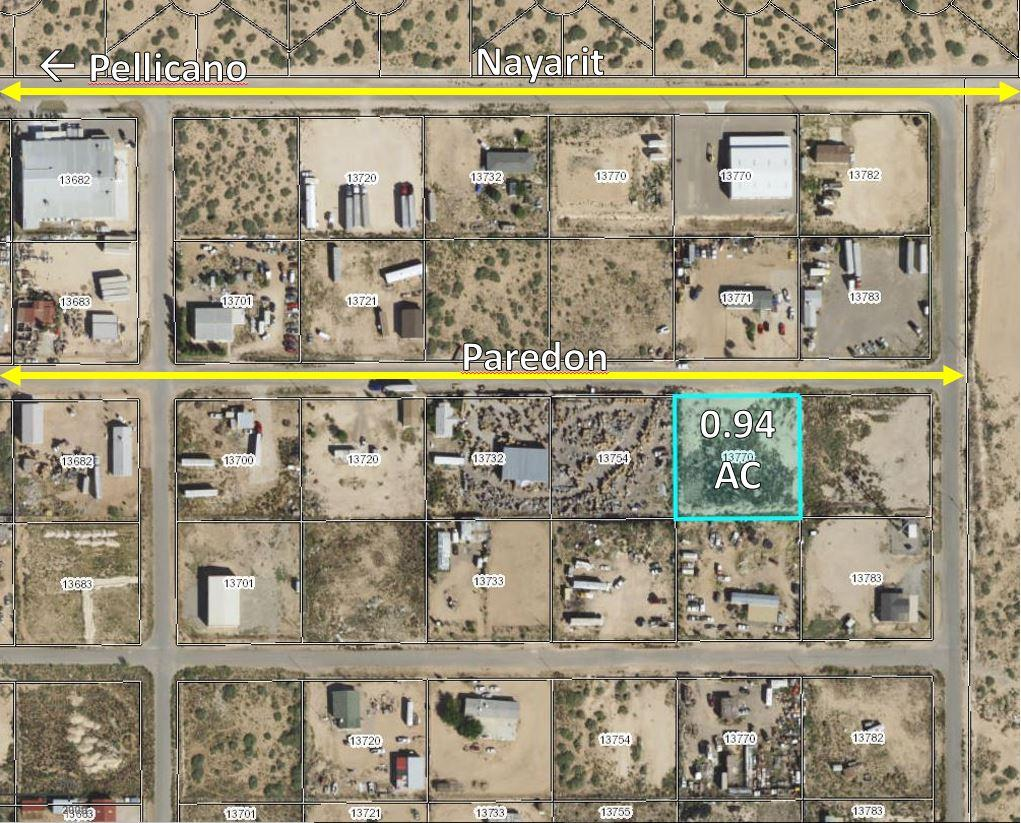 13770 Paredon Drive, El Paso, Texas 79928, ,Land,For sale,Paredon,808440