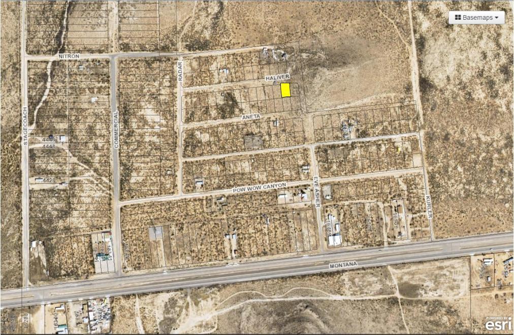 23 BUTTERFIELD CITY #3 LOT 2, Clint, Texas 79938, ,Land,For sale,BUTTERFIELD CITY #3 LOT 2,808836