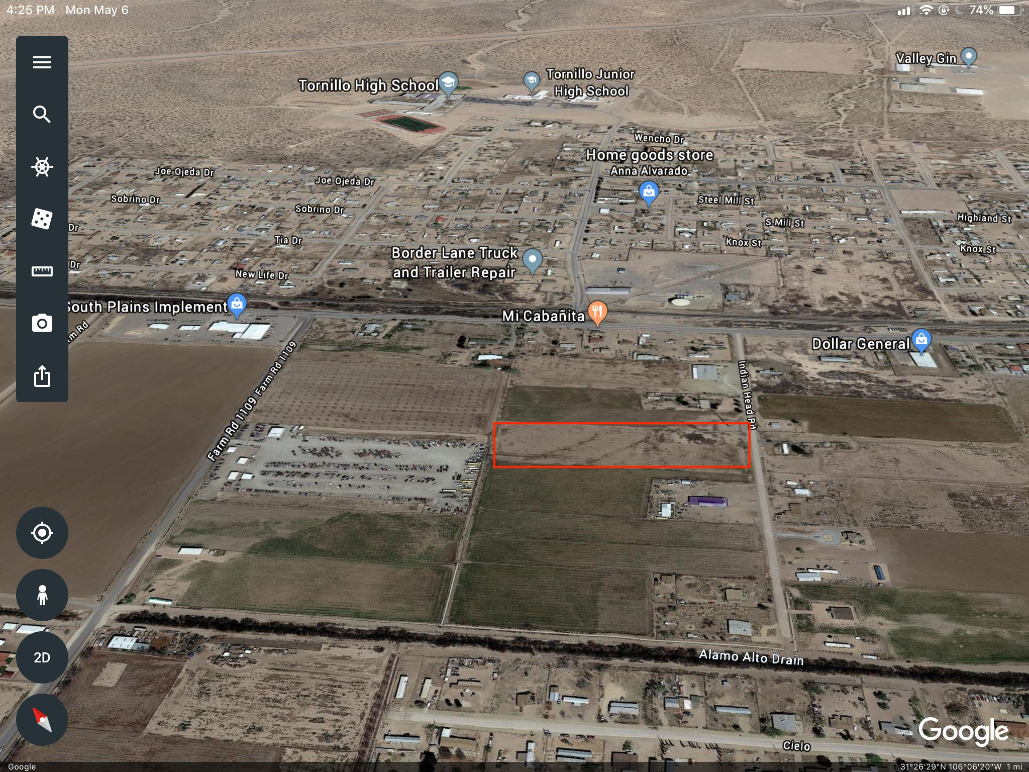 TBD Indian Head Rd Road, Tornillo, Texas 79853, ,Land,For sale,Indian Head Rd,809051