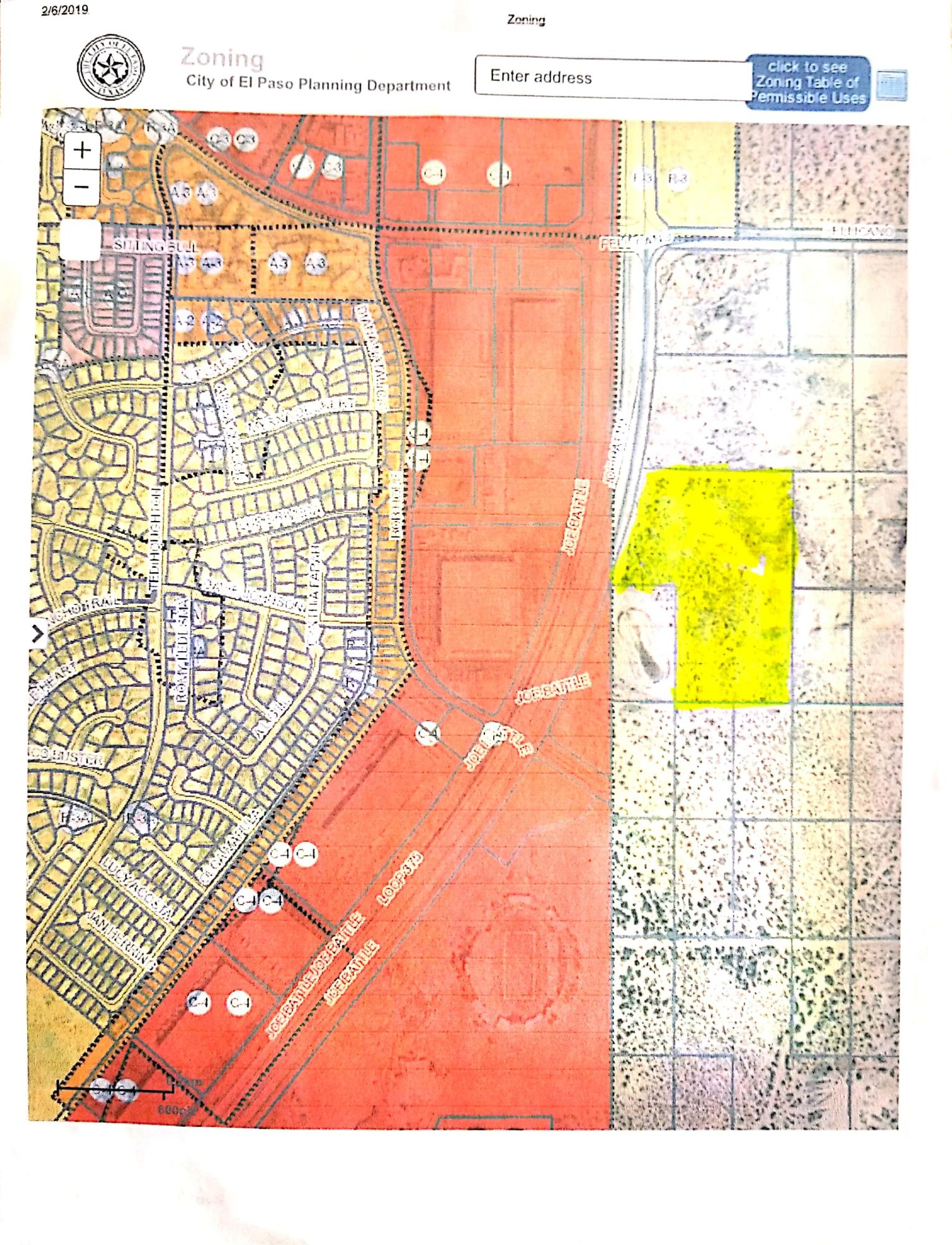 1 JOE BATTLE Boulevard, El Paso, Texas 79936, ,Land,For sale,JOE BATTLE,809404