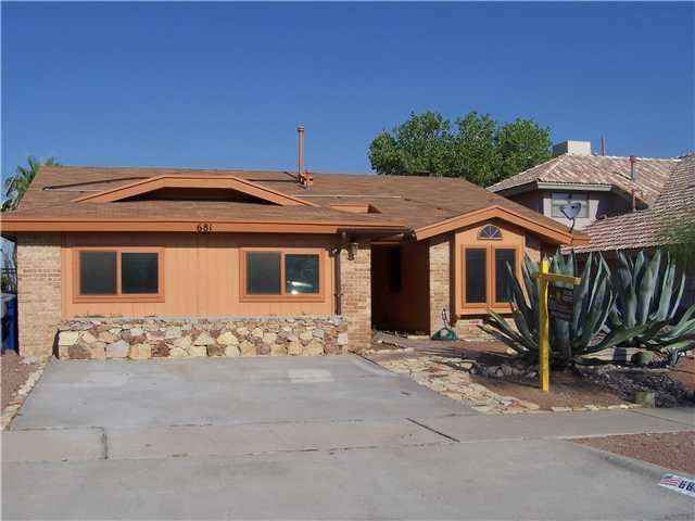681 BRISTOL, El Paso, Texas 79912, 3 Bedrooms Bedrooms, ,2 BathroomsBathrooms,Residential Rental,For Rent,BRISTOL,813011