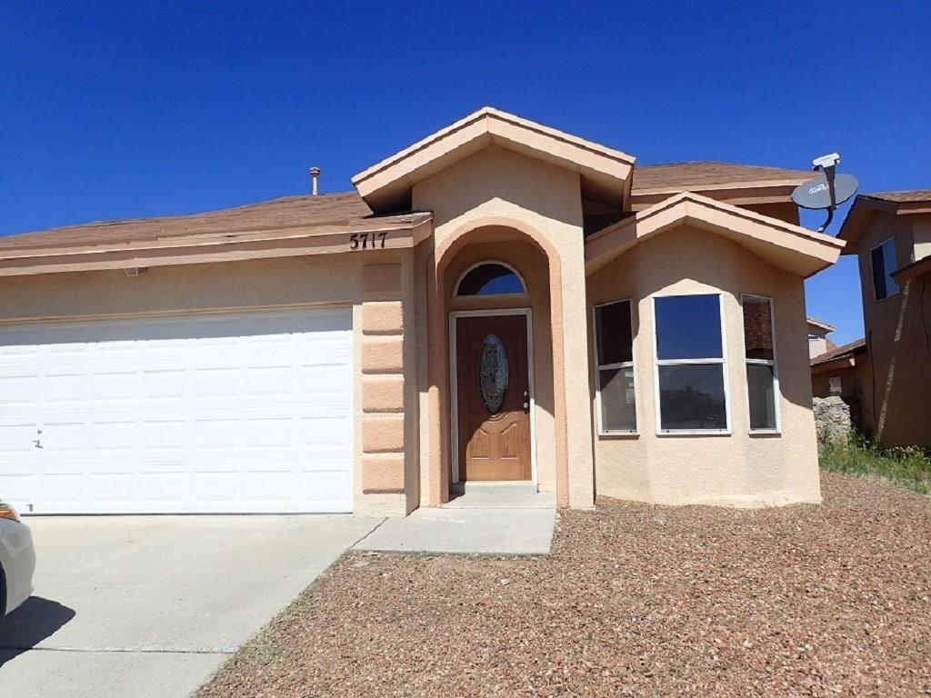 5717 DAVID M. BROWN, El Paso, Texas 79934, 3 Bedrooms Bedrooms, ,2 BathroomsBathrooms,Residential Rental,For Rent,DAVID M. BROWN,813575