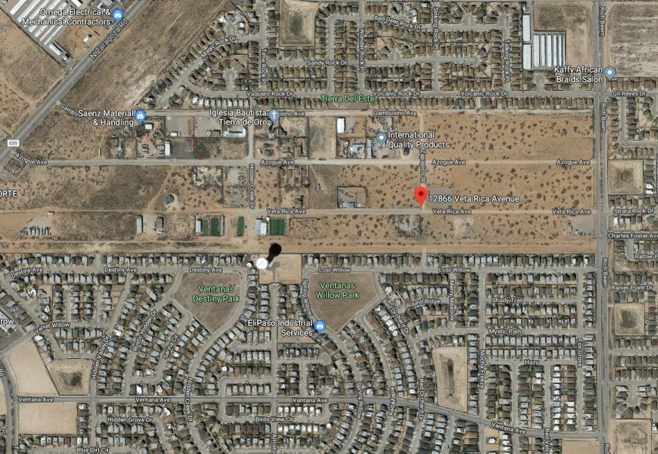 12866 VETA RICA Avenue, El Paso, Texas 79938, ,Land,For sale,VETA RICA,818840