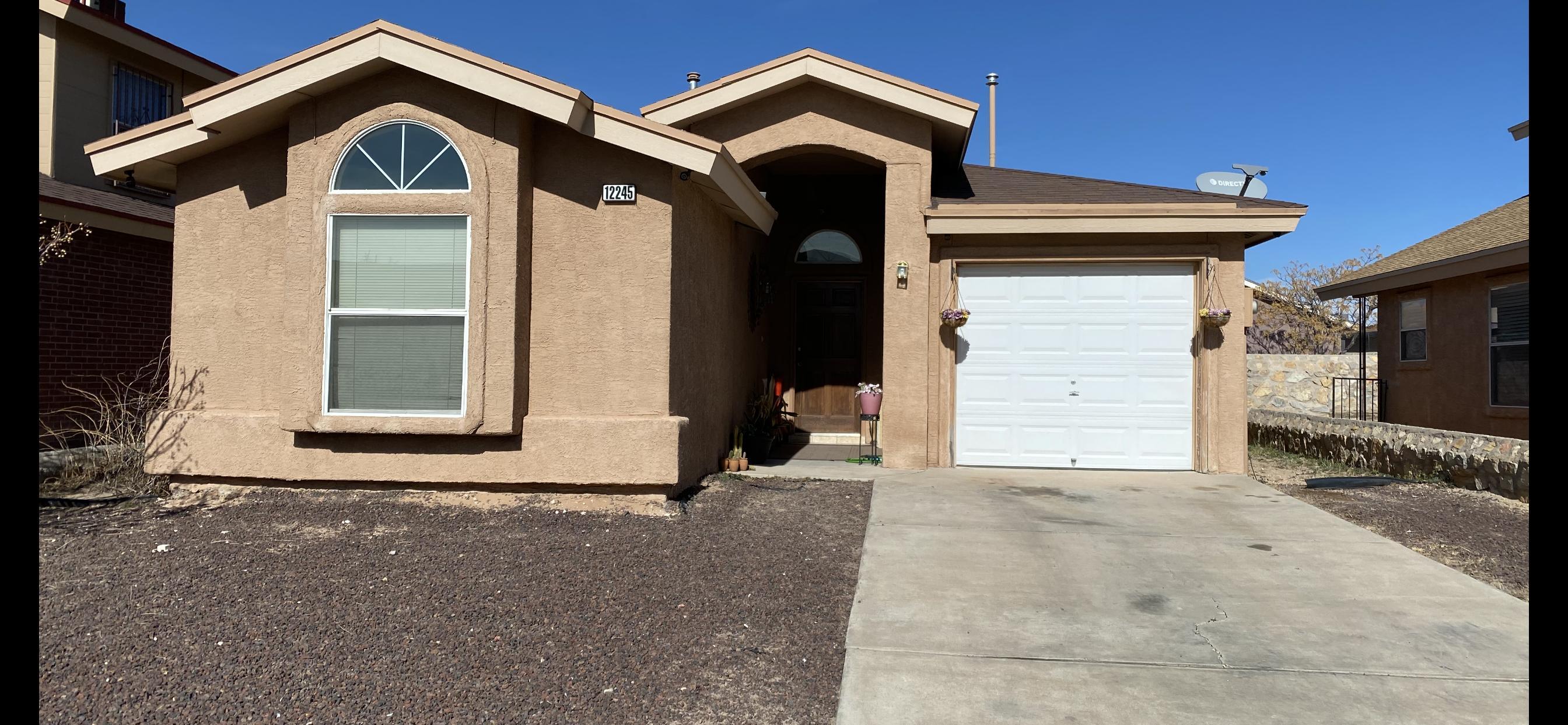 12245 MARIA SEANES, El Paso, Texas 79936, 3 Bedrooms Bedrooms, ,2 BathroomsBathrooms,Residential,For sale,MARIA SEANES,821120
