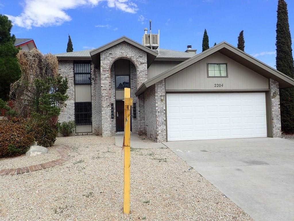 2204 JACKIE, El Paso, Texas 79936, 3 Bedrooms Bedrooms, ,2 BathroomsBathrooms,Residential Rental,For Rent,JACKIE,822760