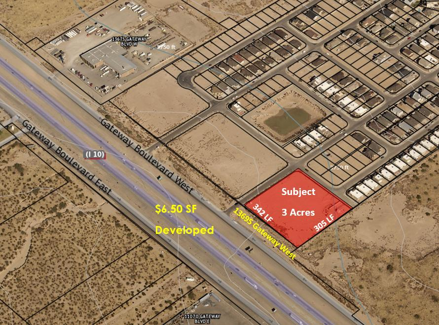 13695 Gateway Boulevard, El Paso, Texas 79928, ,Land,For sale,Gateway,826556
