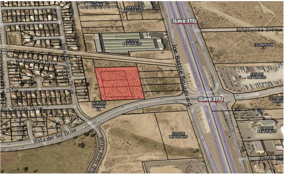 TBD Vista Del Sol Drive, El Paso, Texas 79936, ,Land,For sale,Vista Del Sol,826568