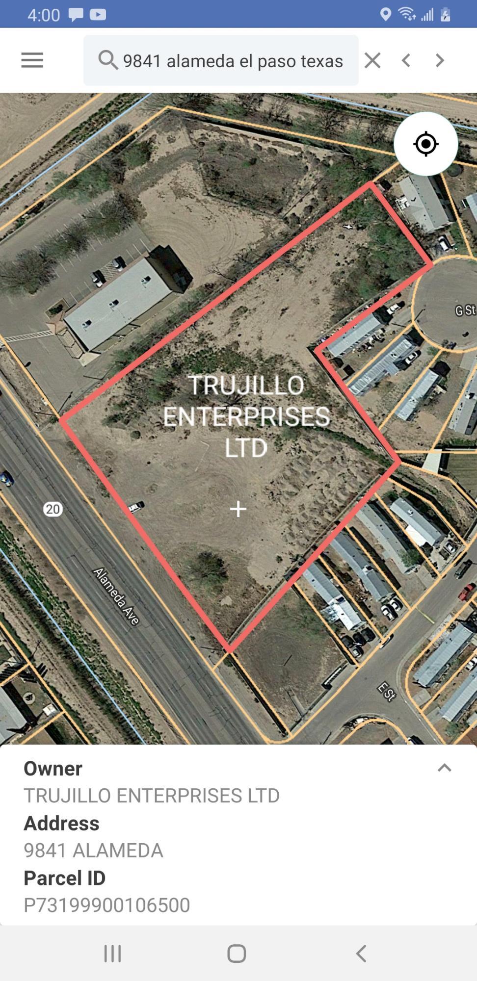 9841 ALAMEDA Avenue, Socorro, Texas 79927, ,Land,For sale,ALAMEDA,827200