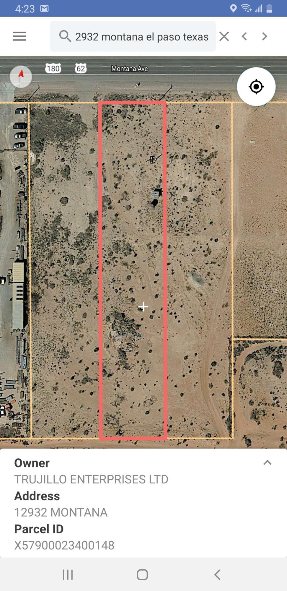 12932 MONTANA Avenue, El Paso, Texas 79938, ,Land,For sale,MONTANA,827202