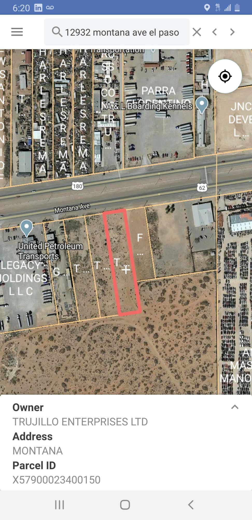 TBD Montana Avenue, El Paso, Texas 79938, ,Land,For sale,Montana,827205