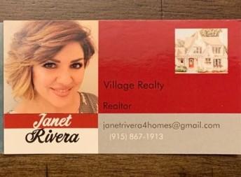 Janet Rivera agent image