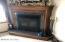Hand made fireplace.