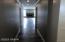 Hallway to kitchen/living room