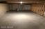 Crawl space in basement