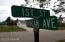 street corner to NE