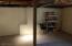 back wall basement