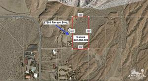 Property for sale at 5 Acres Miracle Hill, Desert Hot Springs,  California 92240