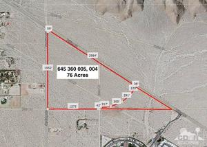 Property for sale at 0 76 Acres Dillon & Sky Ridge Rd, Desert Hot Springs,  California 92241